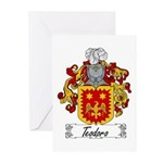 Teodoro Coat of Arms Greeting Cards (Pk of 10)