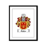 Teodoro Coat of Arms Framed Panel Print