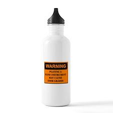 WARNING: Band may cause good Water Bottle