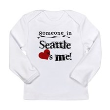 Seattle Loves Me Long Sleeve Infant T-Shirt