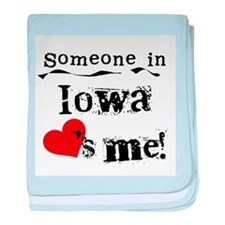 Someone in Iowa Infant Blanket