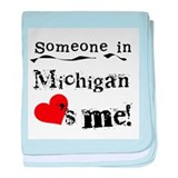 Someone in Michigan Infant Blanket