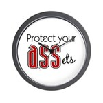 Protect Your ASSets Wall Clock