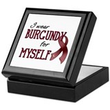 Wear Burgundy - Myself Keepsake Box