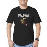 Holy Balls - Men's Dark Fitted T-Shirt