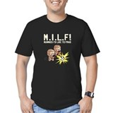 M.I.L.F - Men's Dark Fitted T-Shirt