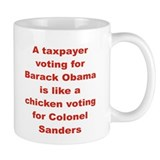 A TAXPAYER VOTING FOR BARACK OBAMA I LIKE...