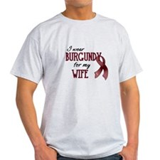 Wear Burgundy - Wife T-Shirt