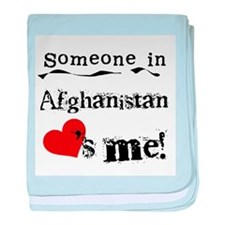 Afghanistan Loves Me Infant Blanket