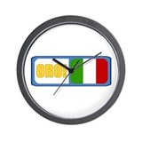 Italia (Italiano) Wall Clock