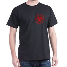 Red Biohazard T-Shirt