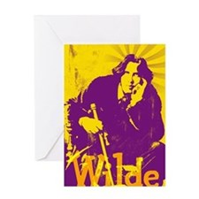 Oscar Wilde Greeting Card