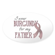 Wear Burgundy - Father Decal