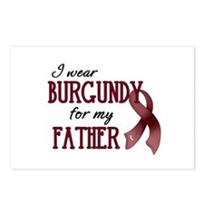 Wear Burgundy - Father Postcards (Package of 8)