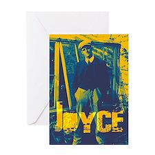 James Joyce Greeting Card