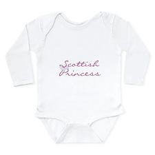 Scottish Princess Long Sleeve Infant Bodysuit