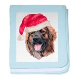 Christmas Leonberger Infant Blanket