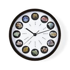 Rocks Around the Clock - light design Wall Clock