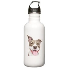 Pitbull terrier Water Bottle