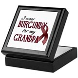 Wear Burgundy - Grandpa Keepsake Box