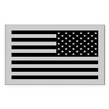 Subdued US Flag Tactical Bumper Stickers
