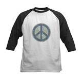 Urban Peace Sign - Denim Tee