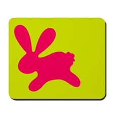 Rabbit P Mousepad