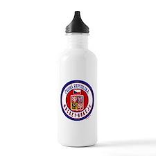 CZ Czech Rep Ice Hockey Water Bottle