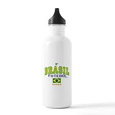Brasil Futebol/Brazil Soccer/Football Water Bottle