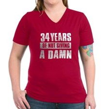 34 years of not giving a damn Shirt