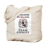 TEAM CIVILITY Tote Bag