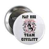 "2.25"" Button PLAY NICE (100 pack)"