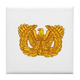 Warrant Officer Symbol Tile Coaster