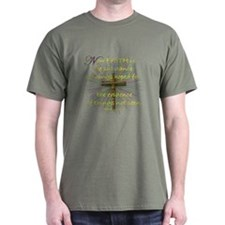 Faith (Heb. 11:1 KJV) T-Shirt