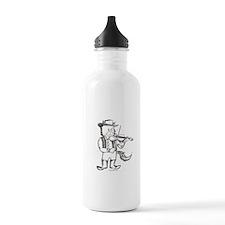 CatoonsT Fiddle Cat Water Bottle