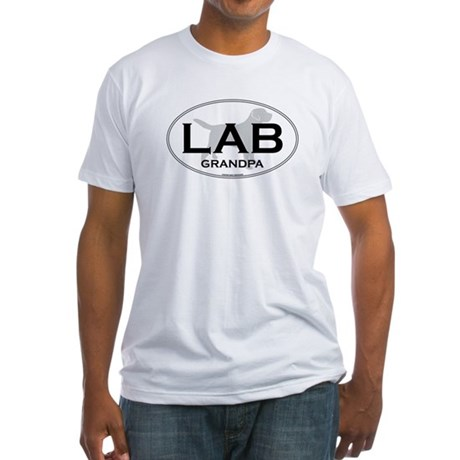 LAB GRANDPA II Fitted T-Shirt