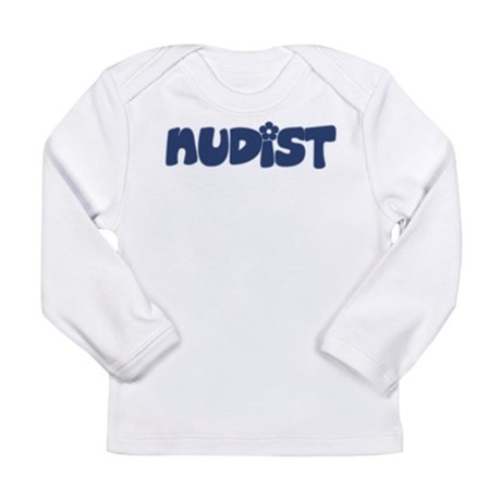 Nudist Long Sleeve Infant T-Shirt