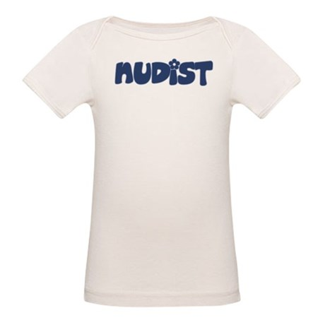 Nudist Organic Baby T-Shirt