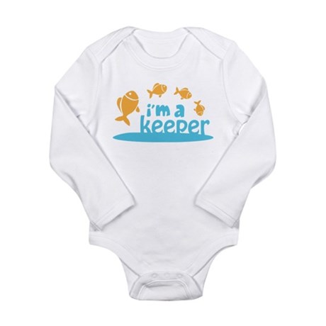 I'm a Keeper Long Sleeve Infant Bodysuit