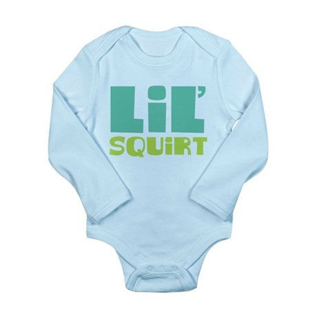 Lil' Squirt Long Sleeve Infant Bodysuit