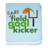 Future Field Goal Kicker Infant Blanket