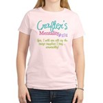 Crafter's Mentality #374 Women's Light T-Shirt