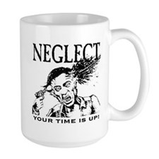Get wired w/ a NEGLECT Large coffee Mug