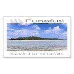 Tuvalu Sticker (Rectangle 10 pk)