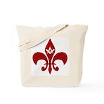 Masonic Fleur De Lis Tote Bag
