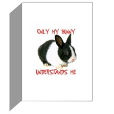 I LOVE BUNNIES Greeting Cards (Pk of 10)
