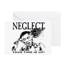 NEGLECT Greeting Cards (Pk of 10)