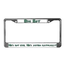 Cute Chris zell License Plate Frame