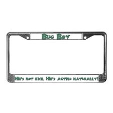 Funny Chris zell License Plate Frame