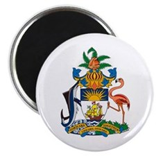"Bahamas Coat of Arms 2.25"" Magnet (10 pack)"